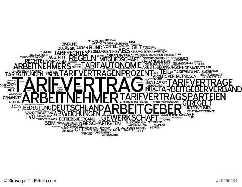 Wann gilt ein Tarifvertrag auch für den Arbeitsvertrag? (Foto: XtravaganT/fotolia.de)