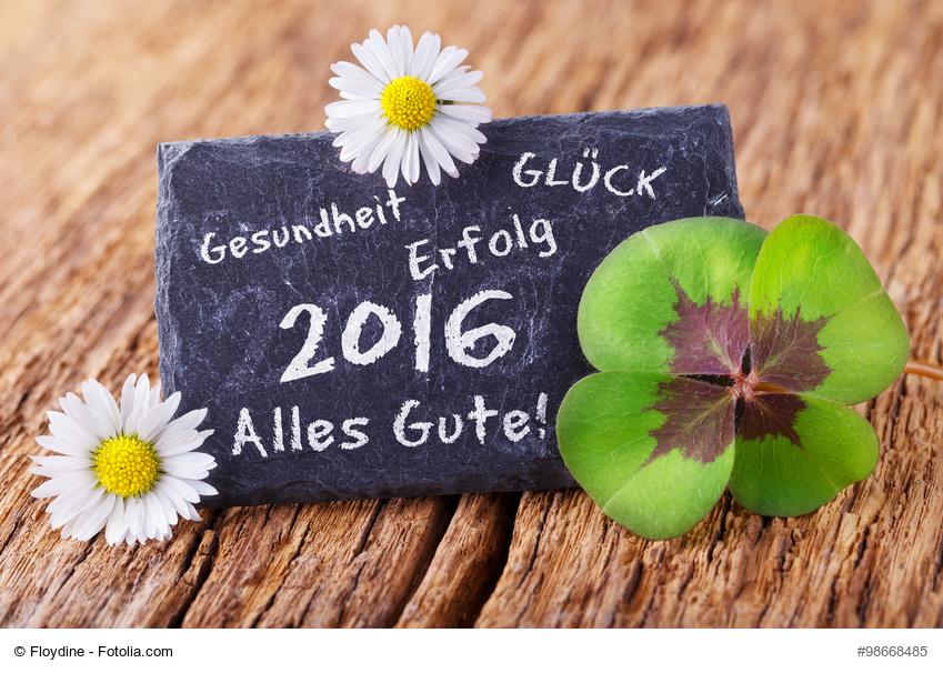 Alles Gute für das Jahr 2016 (Foto: Floydine/fotolia.com)