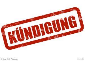 Kündigung wegenn Verdacht der Unterschlagung (Bild: Daniel Ernst-fotolia.com)