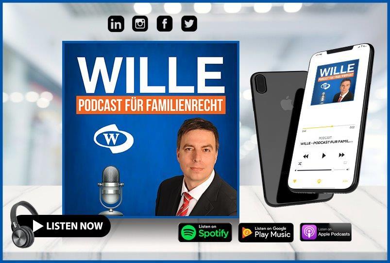 Der Podcast von Anwalt Wille