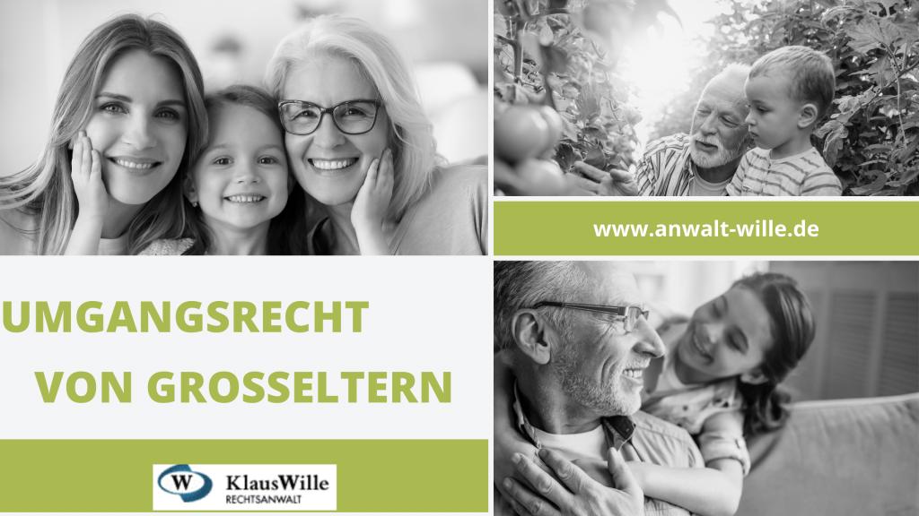 Umgangsrecht für Großeltern mit dem Enkelkind